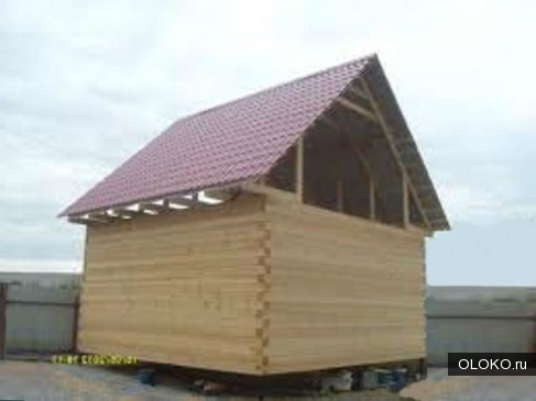 Акция Дом из бруса 100 150мм размером 6 6м со сборкой ВСЕГО 85 т. р..