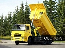 Услуги самосвалов от 3 до 25 тонн в Красноярске.