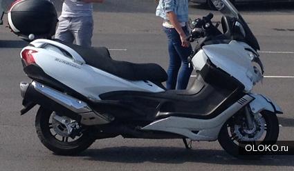 Макси-скутер Suzuki BURGMAN 650 2013 года, продаю.