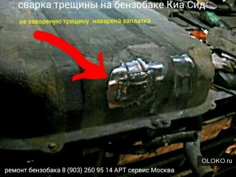 ремонт бензобака Хендай i30 в Москве.