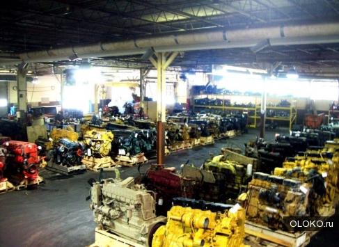 Двигатель Detroit Disel.