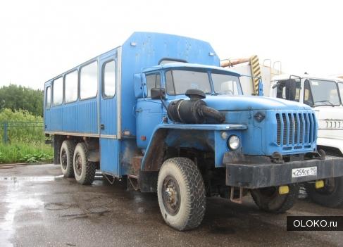 Вахтовка Урал 3255 2007г.