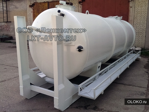 Цистерна вакуумная ЛКТ-10ВМ мультилифт.