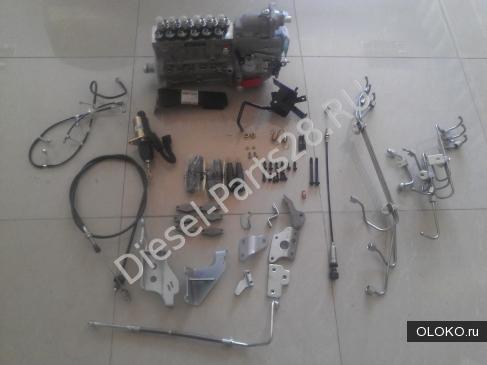Комплекты переоборудования двигателей из Евро 3 в Евро 2 для самосвалов Howo, Shaanxi, Faw, Dongfeng.