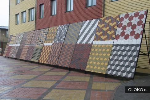 Тротуарная плитка, бордюр, облицовочный камень.
