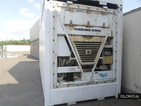 Продается б у рефрижераторный контейнер 2008 года выпуска.