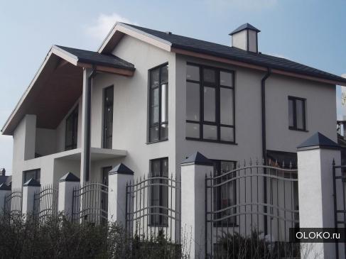 Выполняем работы по покраске фасадов зданий..