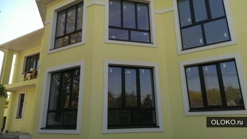 Отделка фасадов декоративной штукатуркой шуба, гранул.