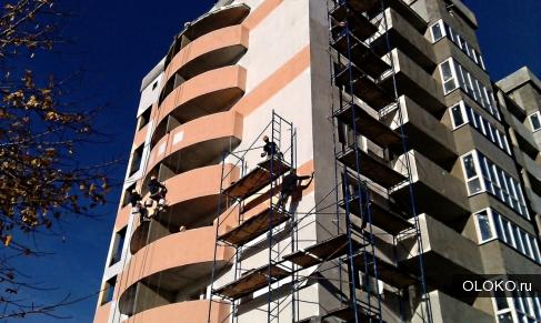 Утепление и отделка квартир, с помощью промышленных альпинистов.
