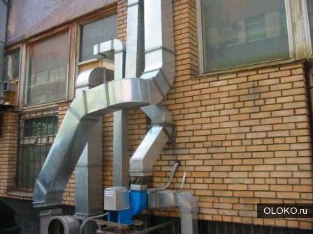 Комплексное обслуживание вентиляционных систем..