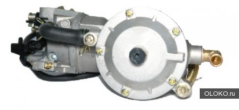 Комплект для перевода бензогенератора на газ.