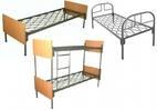 Кровати металлические, кровати одноярусные, кровати двухъярусные и трехъярусные.