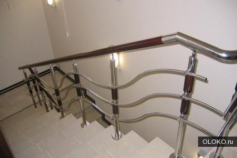 Качественные ограждения для лестницы.