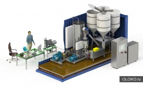 Мини-завод по производству сгущенного молока из сухих компонентов.