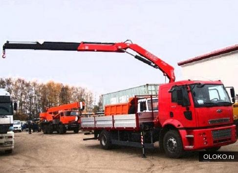 Заказывайте, машины Краны Манипуляторы, длиной, от 5 до 9 метров.