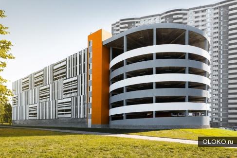машиноместо многоуровневый паркинг, 14 м².