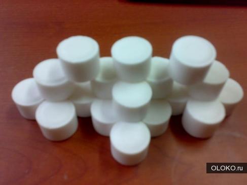 Таблетированная соль в мешках по 25 кг.