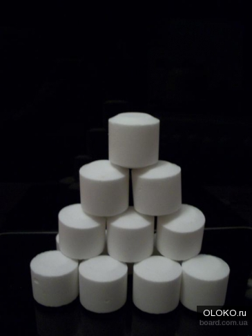 Соль таблетированная для фильтра.