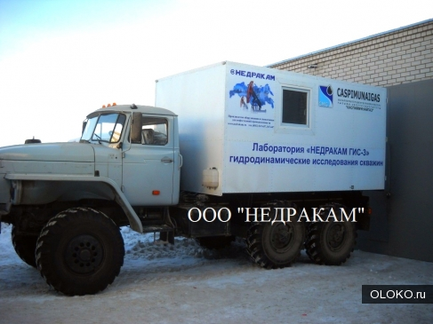 Агрегат исследования скважин на шасси Урал.