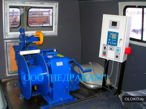 Мобильная лаборатория исследования скважин на шасси Уаз.