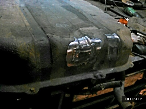сварка и ремонт бензобака Кия Сид.