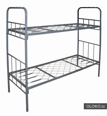 Железные армейские кровати, одноярусные металлические для больниц, бытовок, общежитий, интернатов..