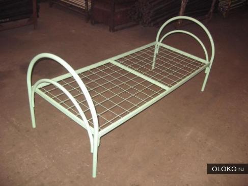 Оптовые цены на армейские металлические кровати от производителя. Дёшево..