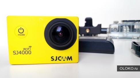 Аренда прокат экшен-камеры SJCAM SJ4000 wifi.