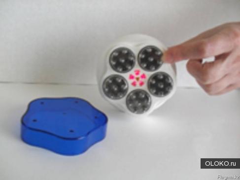 Электронная расчёска с лазером Ишоукан.
