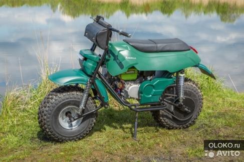 Мотоцикл-вездеход Атаман ST6.