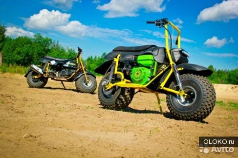 Мотоцикл-вездеход Атаман ST9.