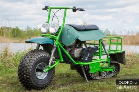 Мотоцикл-вездеход Атаман Моторекс.