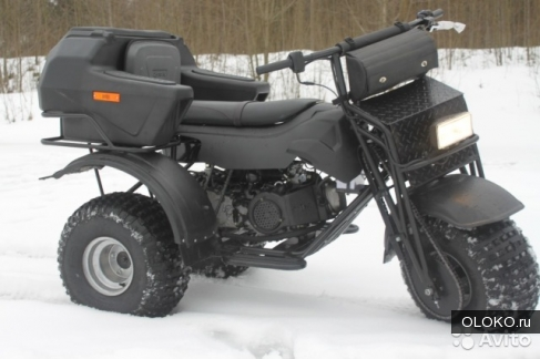 Мотоцикл-вездеход Атаман Trike AWD.