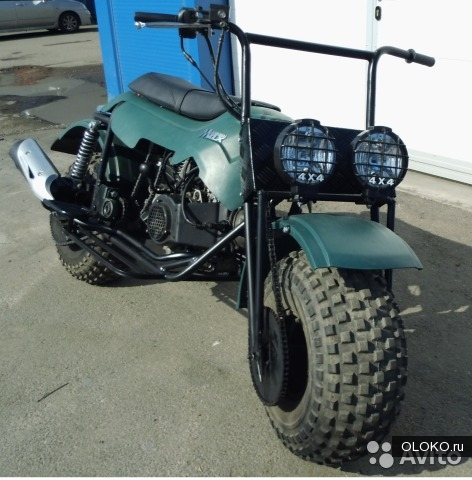 Мотоцикл-вездеход Атаман Макс AWD.