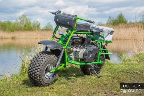 Мотоцикл-вездеход Атаман Light RSE.