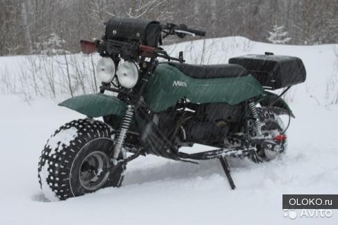Мотоцикл-вездеход Атаман Макс Классик.