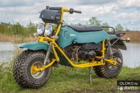 Мотоцикл-вездеход Атаман Макс Стрит.