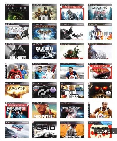 Игры для Sony PlayStation 3 PS3.