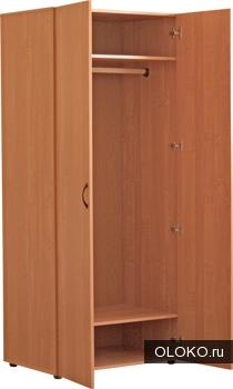 Шкафы распашные из ЛДСП.