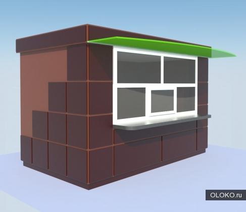 Строительство киосков из композитных материалов..