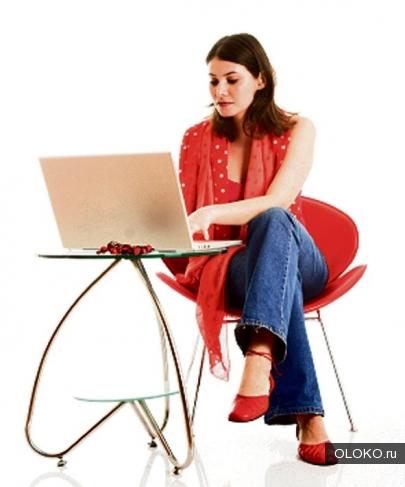 Работа онлайн в интернет-магазин.