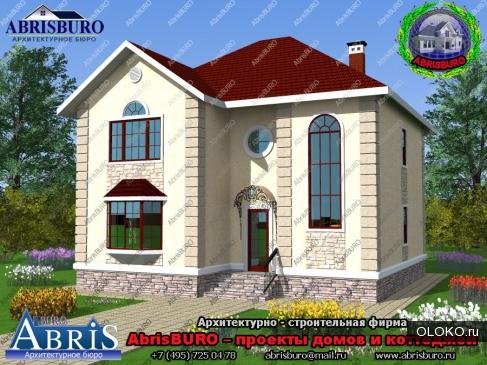 Готовые проекты коттеджей и загородных домов AbrisBURO.