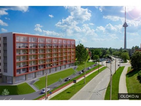 Новые квартиры в элитном комплексе в Литве.