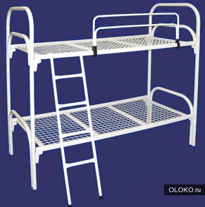 Кровати металлические для лагеря, кровати для гостиницы, кровати оптом, кровати для рабочих, кровати для турбаз..