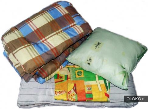 постельные комплекты для рабочих, матрасы, подушки одеяло.