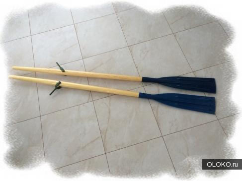 Деревянные гребные весла от производителя.