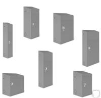 Шкафы для газовых баллонов 27,40,50 л. , 1-2 баллона.