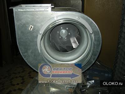 Вентилятор радиальный дымоудаления вр 80-75 ду.