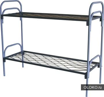 Кровати металлические для бытовок, кровати трёхъярусные для рабочих, кровати одноярусные металлические для вагончиков..