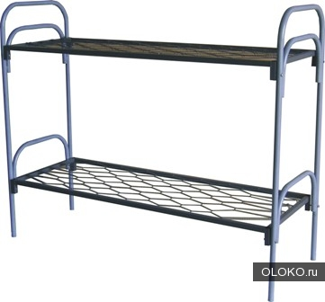 Кровати металлические для казарм, кровати двухъярусные для общежитий, кровати для студентов, металлические кровати для г ....